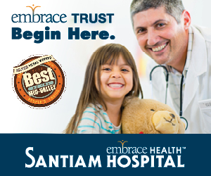 Santiam Hospital ad