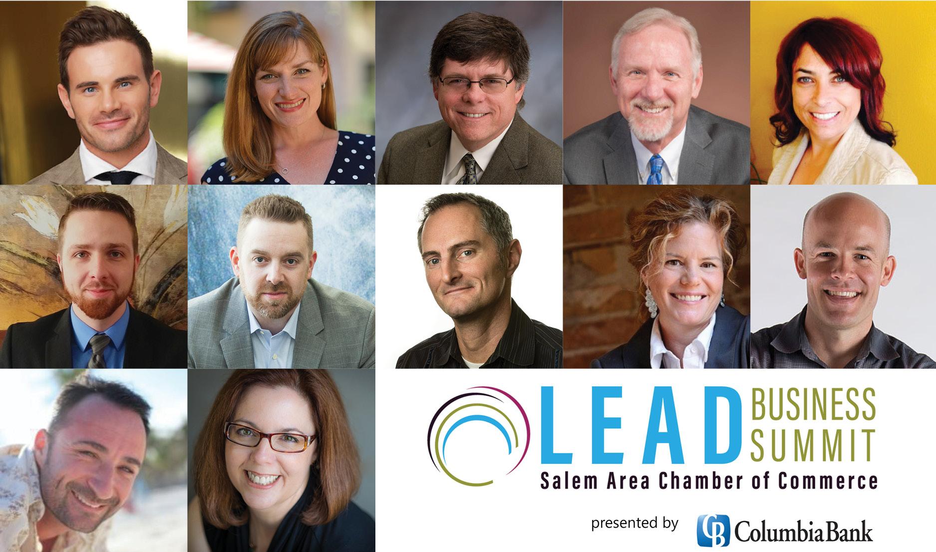 LEAD Business Summit speakers