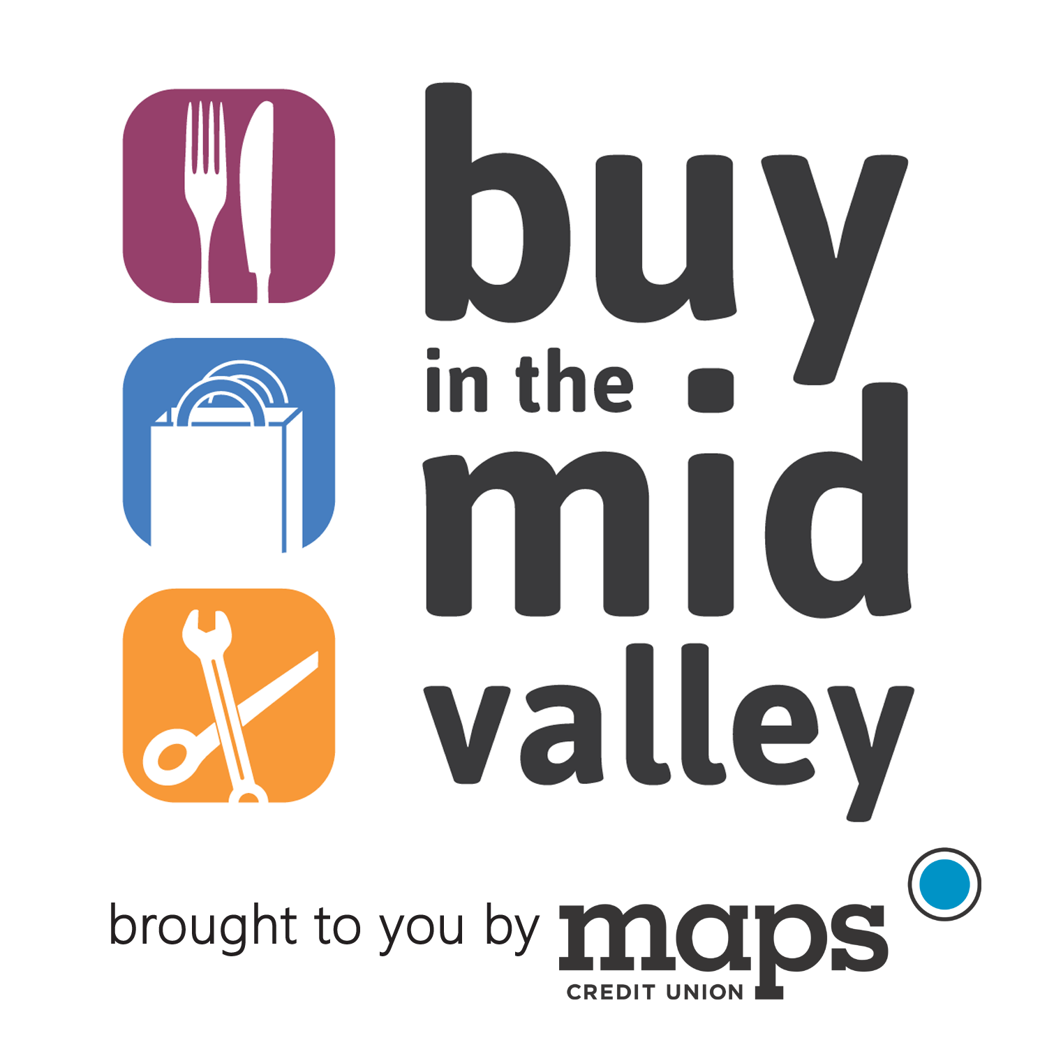 Buy in the MidValley logo