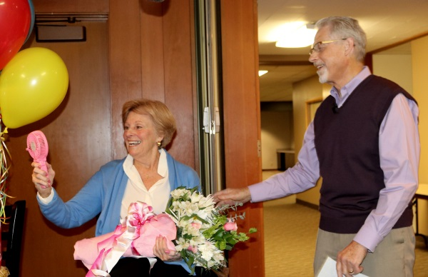 Distinguished Service: Barbara Fletcher, the Patron Saint of Encouragement