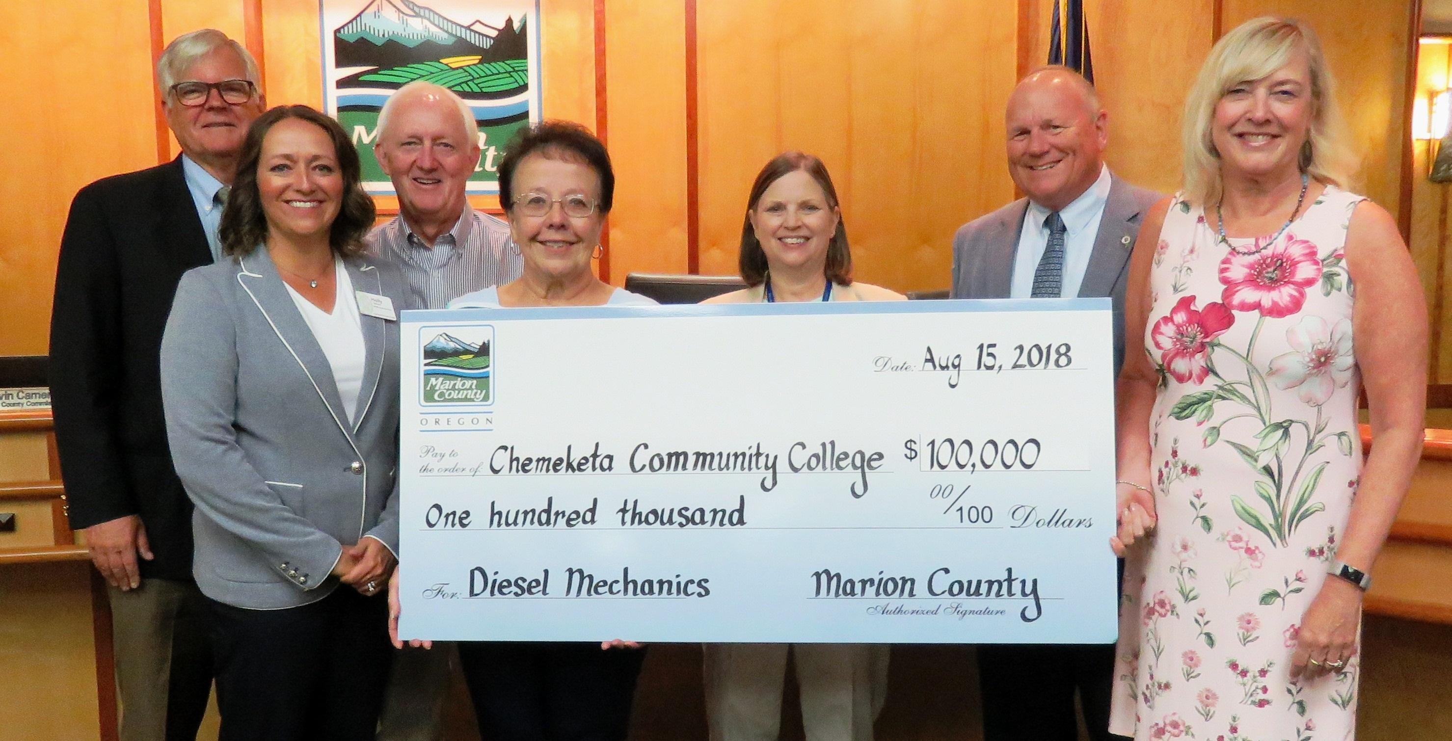 Chemeketa Receives $100,000 Grant for New Diesel Tech Program