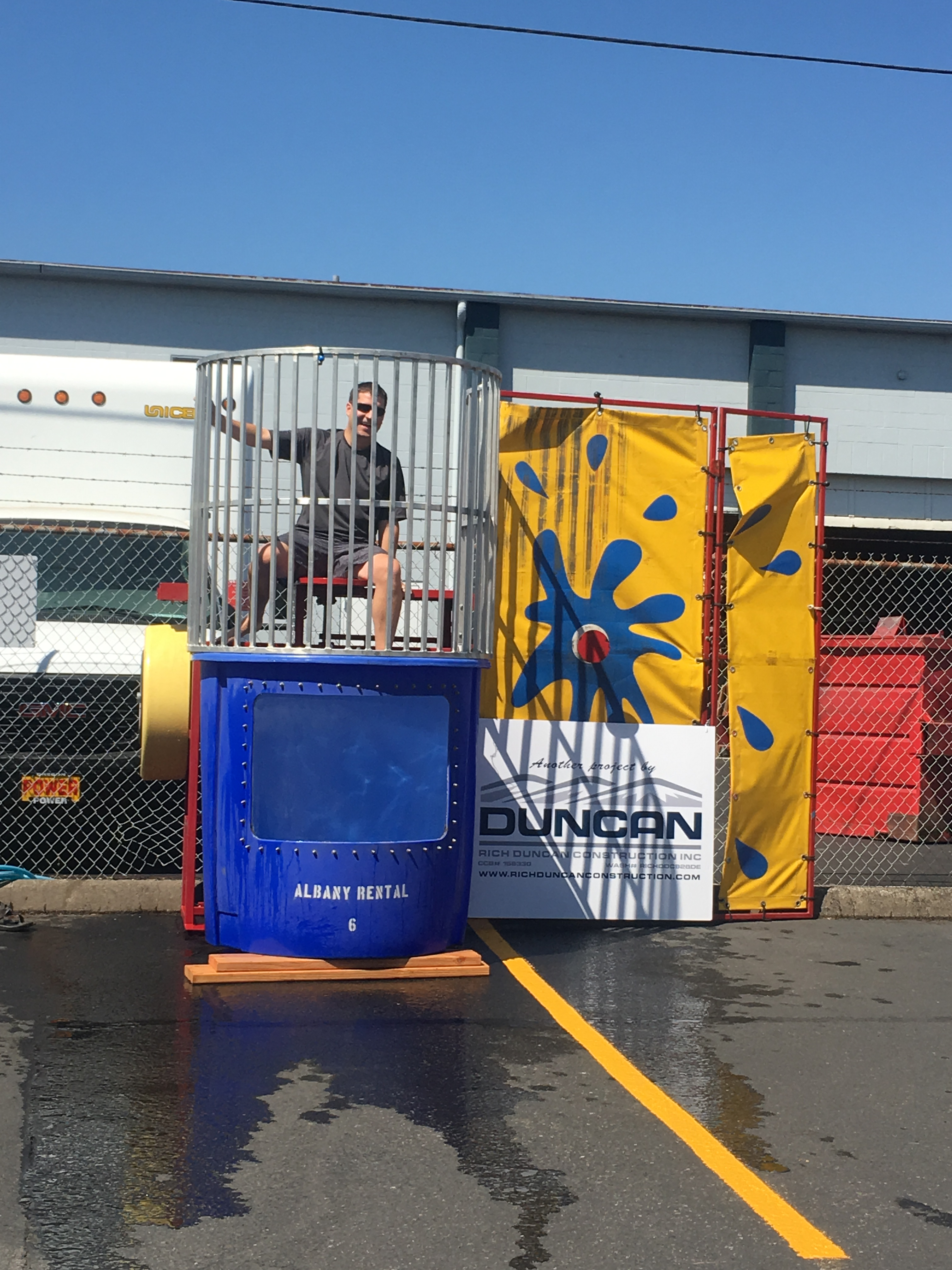 SCE Raises Scholarship Funds with Dunk Tank!