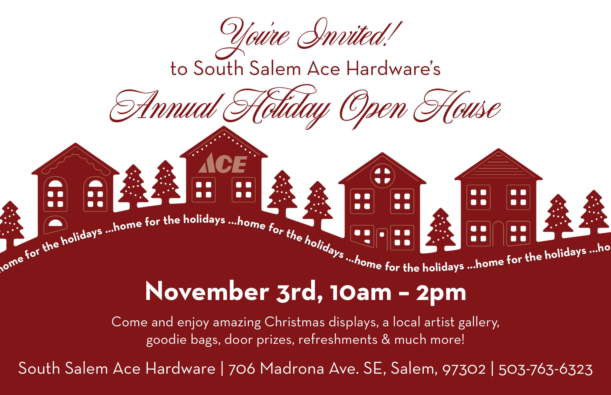 Ace South Salem Holiday Party