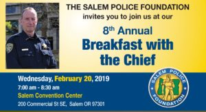 Join Us at Breakfast with the Chief Feb 20