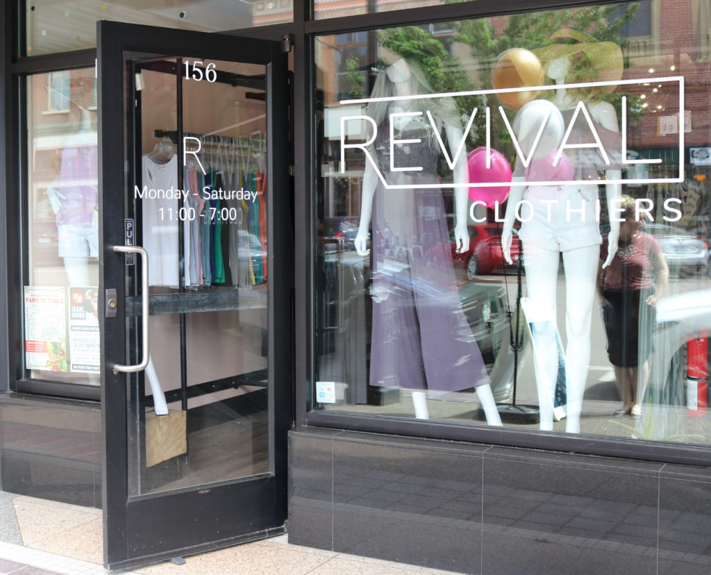 revival clothiers storefront smaller
