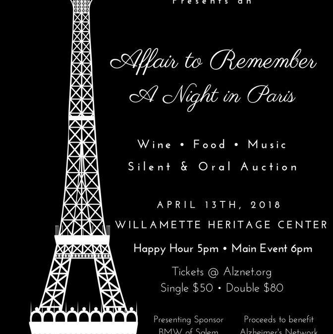 Alzheimer's Network 8th Annual -Affair to Remember