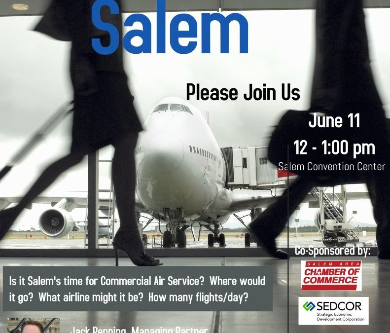 Commercial Air Service in Salem Luncheon