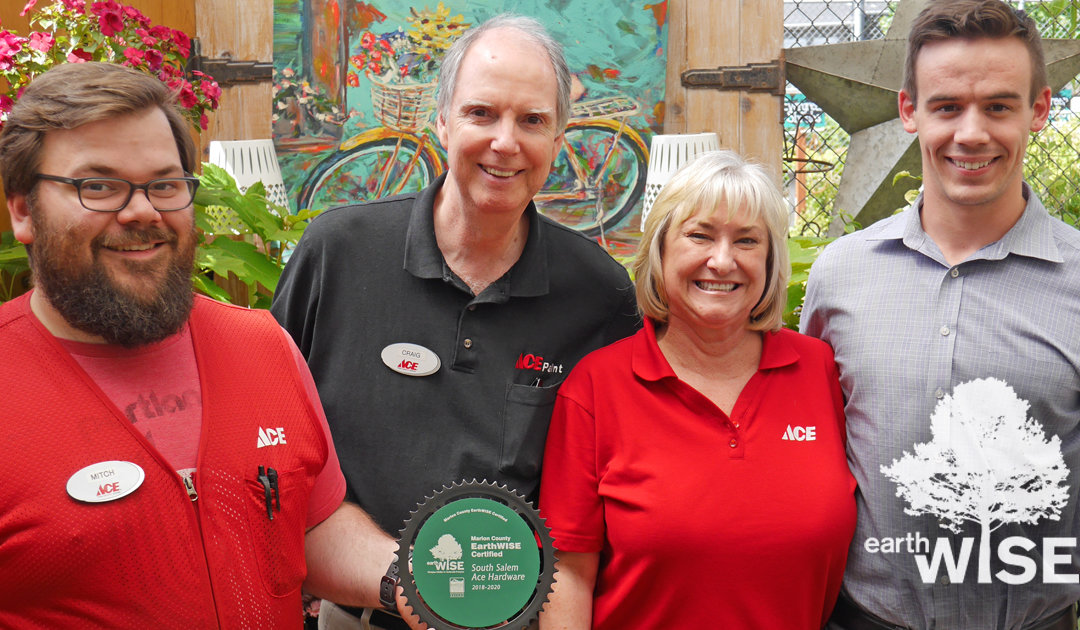 South Salem Ace Achieves EarthWISE Certification