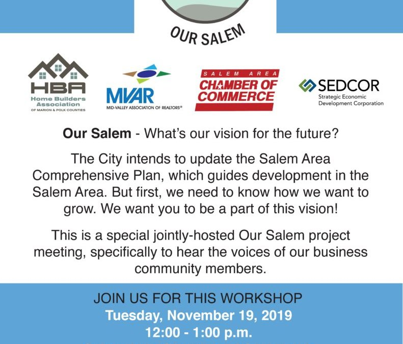 Our Salem Project Seeks Business Perspective
