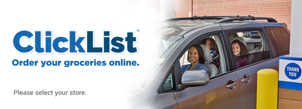 Shop at Fred Meyer from home or anywhere with Clicklist!